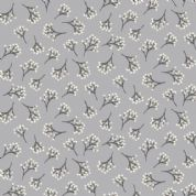 Into The Woods by Makower UK - 5837 -  Branches on Grey - 1853_S3 - Cotton Fabric